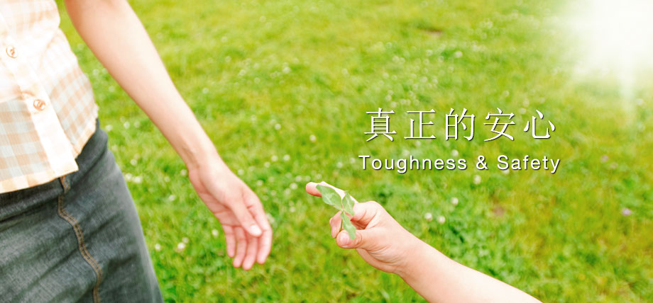 真正的安心 Toughness & Safety